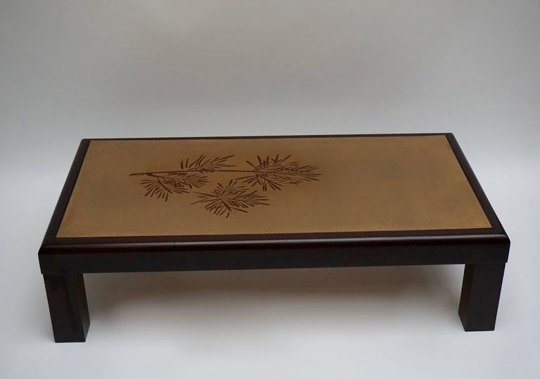 Mid-Century Modern Coffee Table by Denisco For Sale