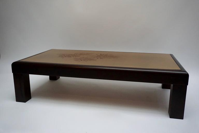 Italian Coffee Table by Denisco For Sale