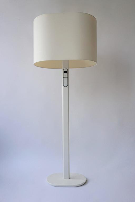 White Floor Lamp by Staff Germany In Good Condition For Sale In Antwerp, BE