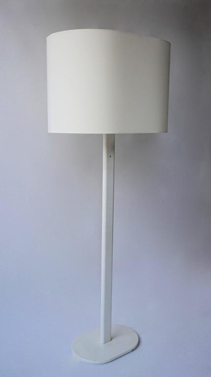 20th Century White Floor Lamp by Staff Germany For Sale