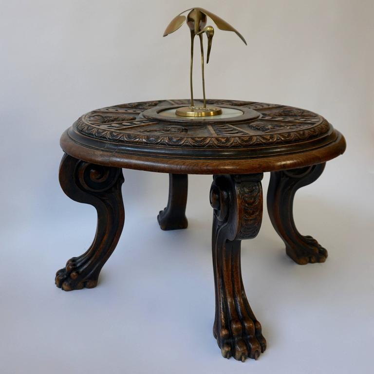 20th Century Carved Coffee Table For Sale