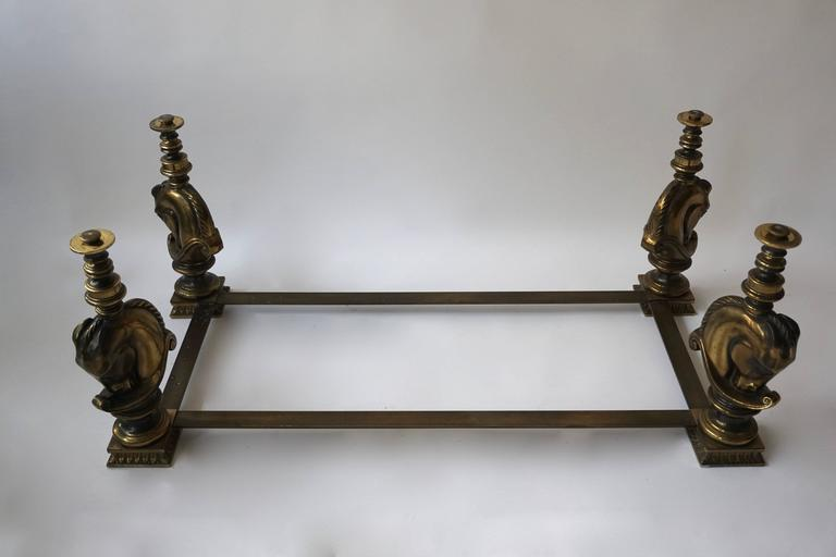 Brass Coffee Table Base For Sale 1