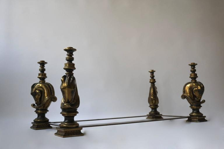 Brass Coffee Table Base In Good Condition For Sale In Antwerp, BE