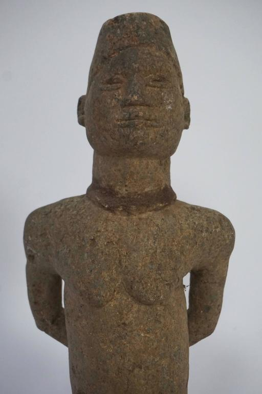 African stone sculpture bakongo people of dr congo for