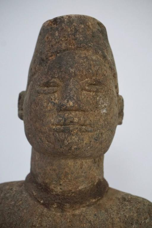 Mid-20th Century African Stone Sculpture, Bakongo People of DR Congo For Sale