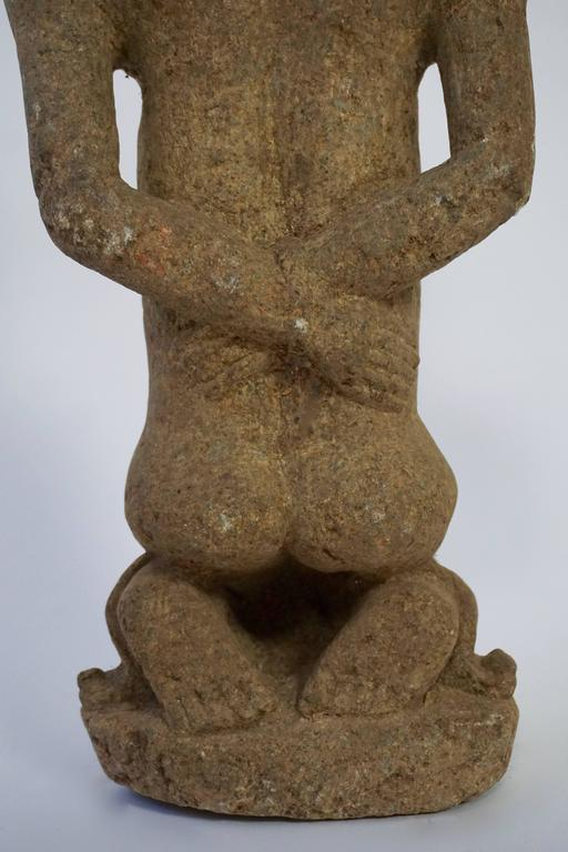 African Stone Sculpture, Bakongo People of DR Congo For Sale 1