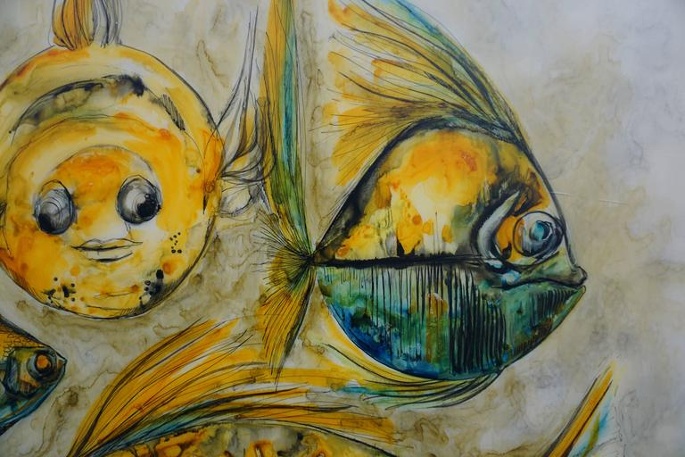 Painting by Rein Cauwenbergh In Good Condition For Sale In Antwerp, BE
