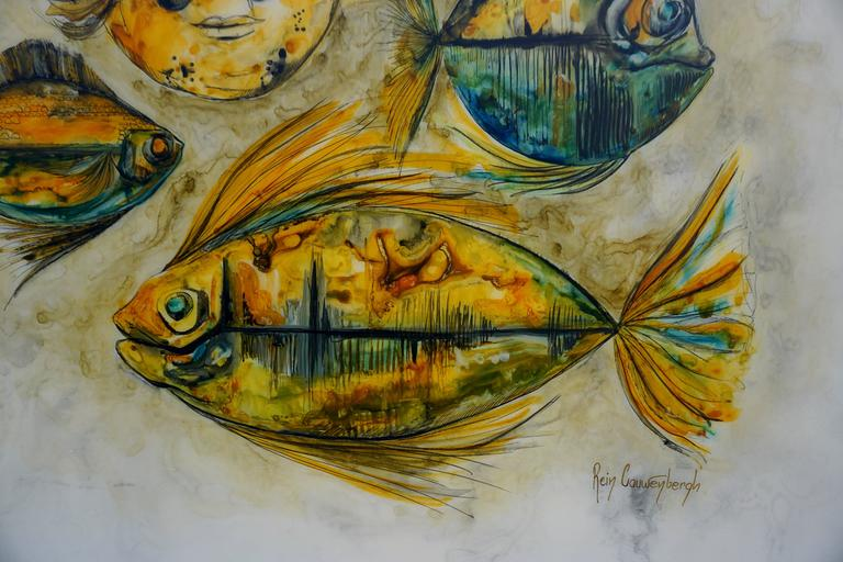 Painting by Rein Cauwenbergh For Sale 1