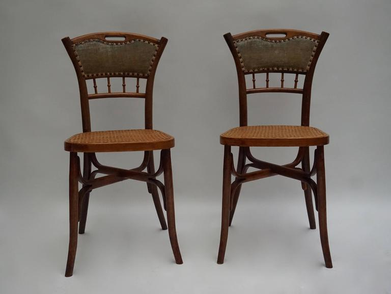 Great Set of 48 Chairs, circa 1900 In Good Condition For Sale In Antwerp, BE