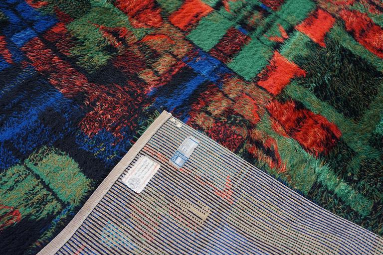 Wool Original 1970 Rug For Sale