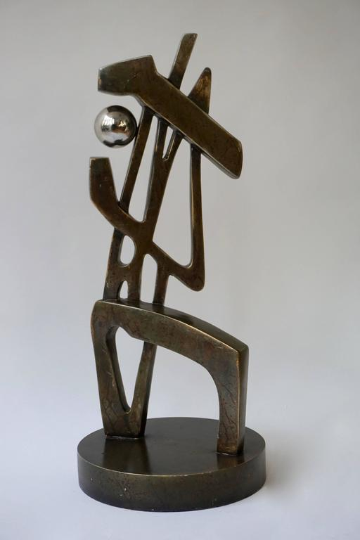 Mid-Century Modern Abstract Sculpture For Sale