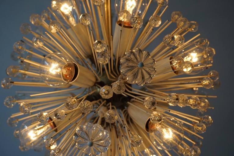 Austrian Fabulous Emil Stejnar Snowball Orbit Sputnik Chandelier Vintage Austria Rubert N For Sale