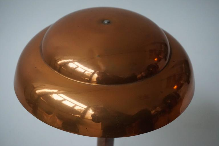 Brass Art Deco Table Lamp For Sale