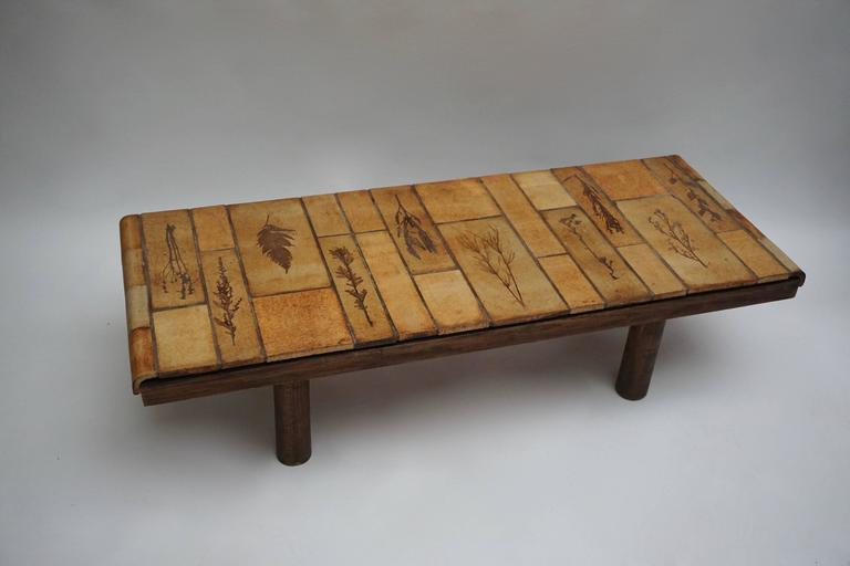 Ceramic Coffee Table by Roger Capron In Good Condition For Sale In Antwerp, BE