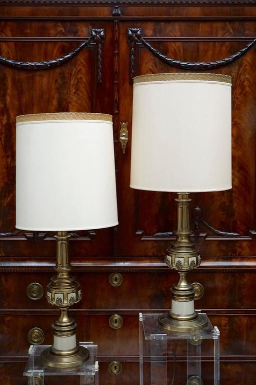 Italian Two Table Lamps For Sale