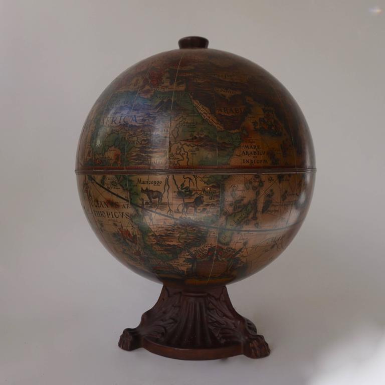 Italian World Globe Dry Bar, circa 1960s 3