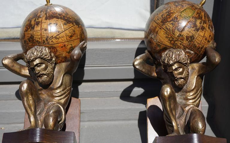 Pair of Vintage Bookends In Good Condition For Sale In Antwerp, BE