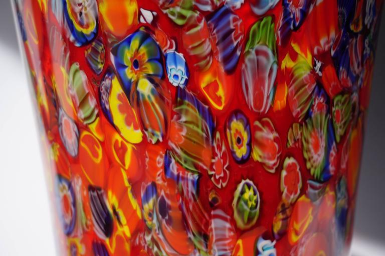 20th Century Murano Glass Vase For Sale