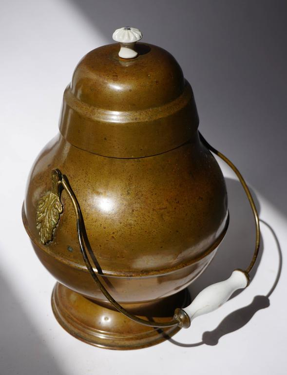 19th Century Dutch Copper Pot In Excellent Condition For Sale In Antwerp, BE