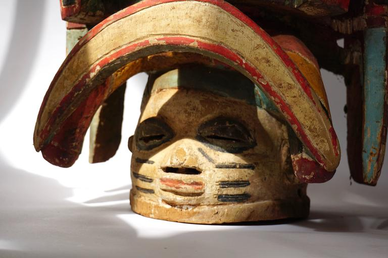 20th Century Oro Efe Gelede Mask, Nigeria For Sale