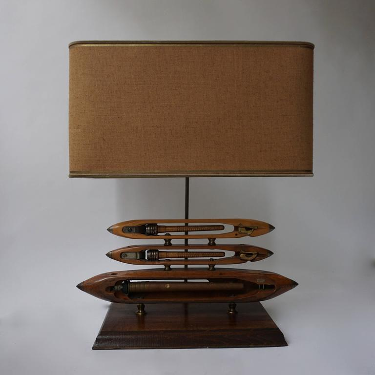 A rare beautiful table lamp. Measures: Height 63 cm. Width 51 cm. Depth 31 cm.