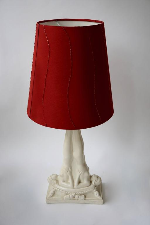 Belgian Table Lamp For Sale