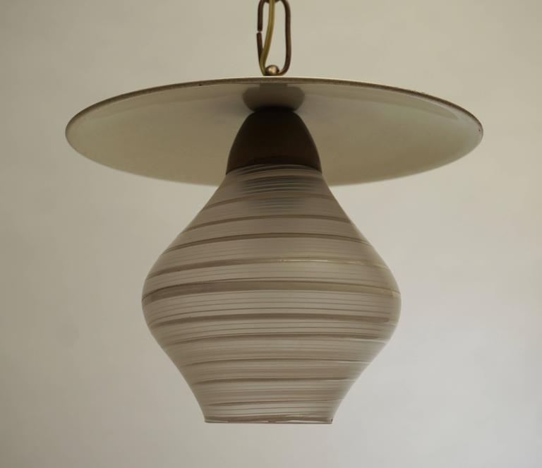 Murano glass pendant light.(E14 bulb)