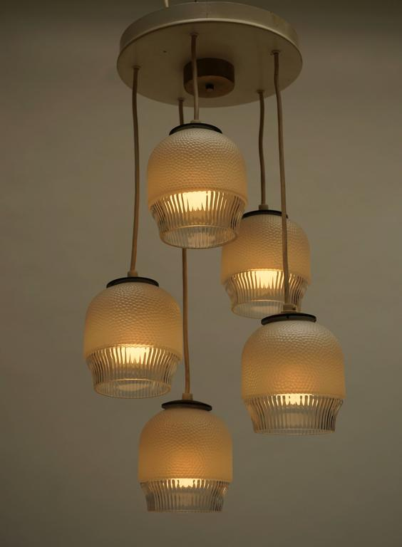 Murano glass pendant light or chandelier.