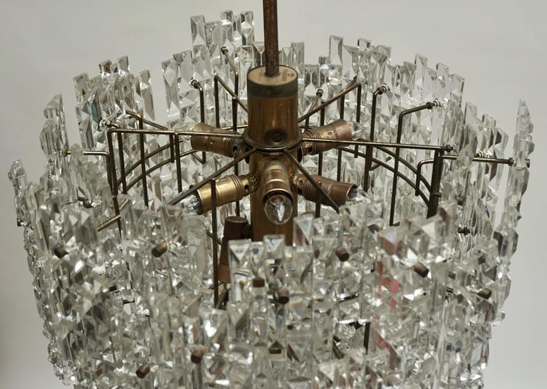 Monumental Kinkeldey Crystal Chandelier For Sale 3