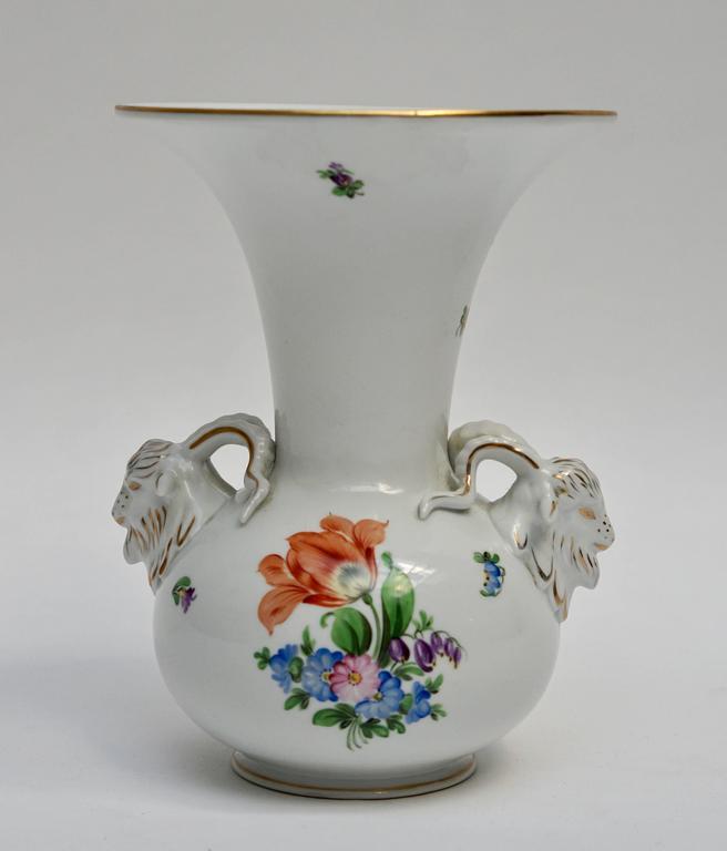 Herend Porcelain Vase For Sale At 1stdibs