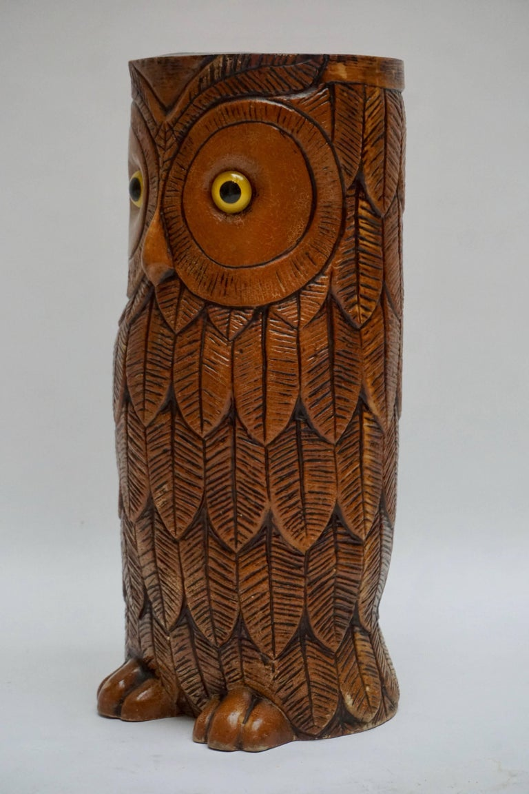 Owl Umbrella Stand In Good Condition For Sale In Antwerp, BE