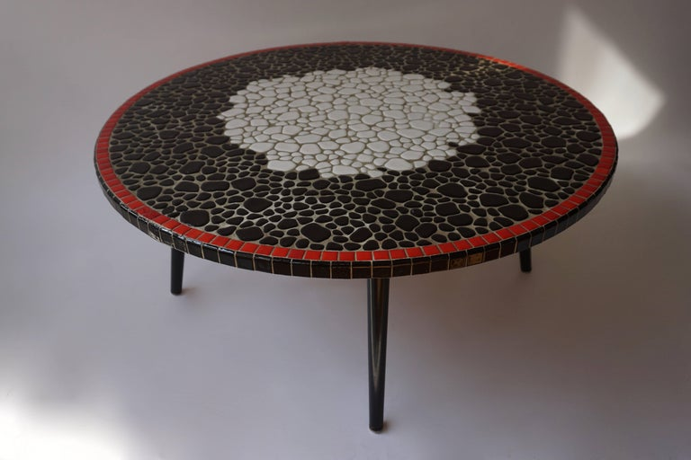 Ceramic Coffee Table In Good Condition For Sale In Antwerp, BE