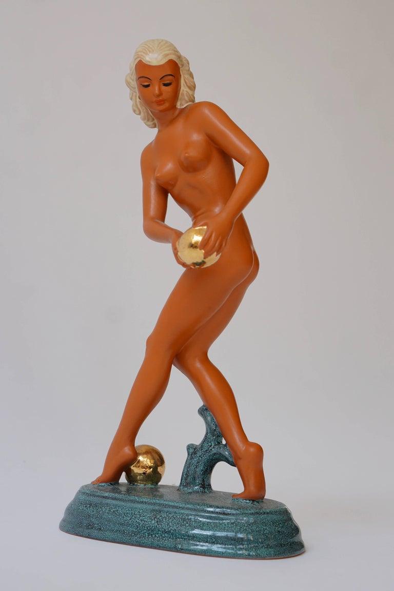 Art Deco Female Nude Sculpture 7