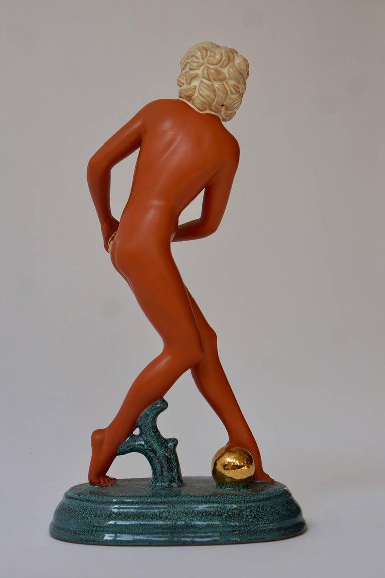 Art Deco Female Nude Sculpture 8