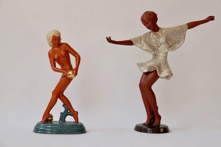 Art Deco Female Nude Sculpture 9