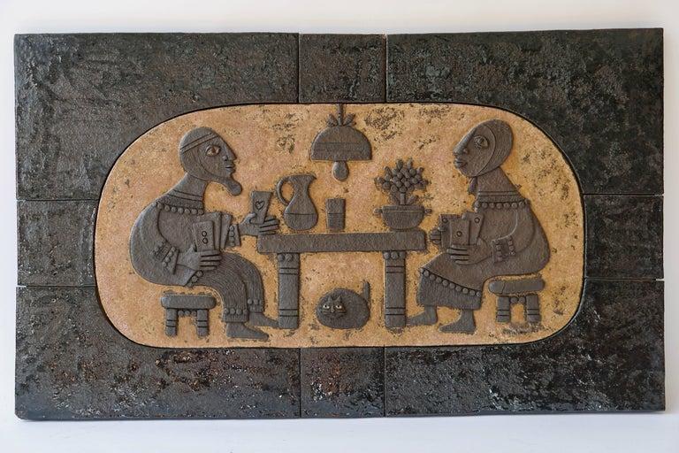 Ceramic Mural Wall Art by Marie Henriette Bataiile 8