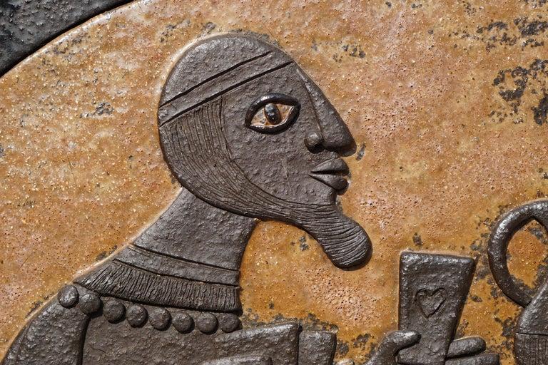 Ceramic Mural Wall Art by Marie Henriette Bataiile 6