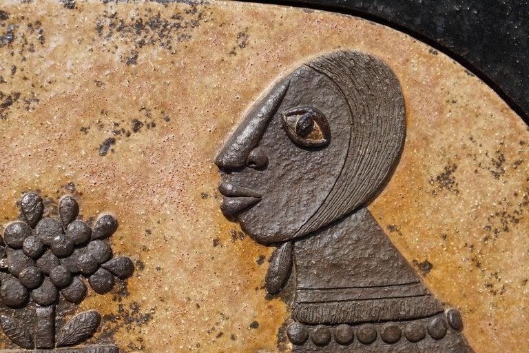 Ceramic Mural Wall Art by Marie Henriette Bataiile 7