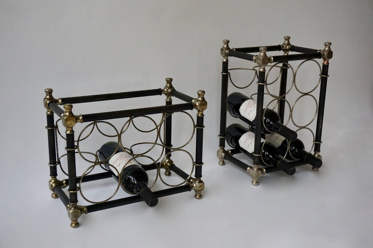 Italian Sculptural 20th Century Wine Rack For Sale
