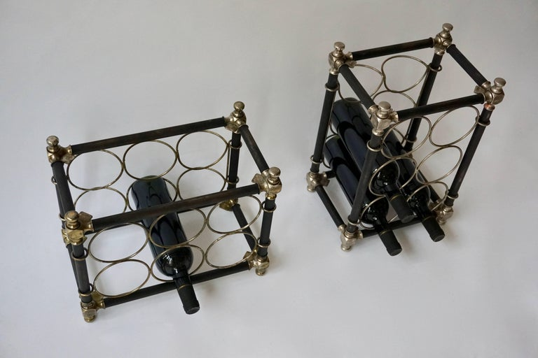 Sculptural 20th Century Wine Rack In Good Condition For Sale In Antwerp, BE