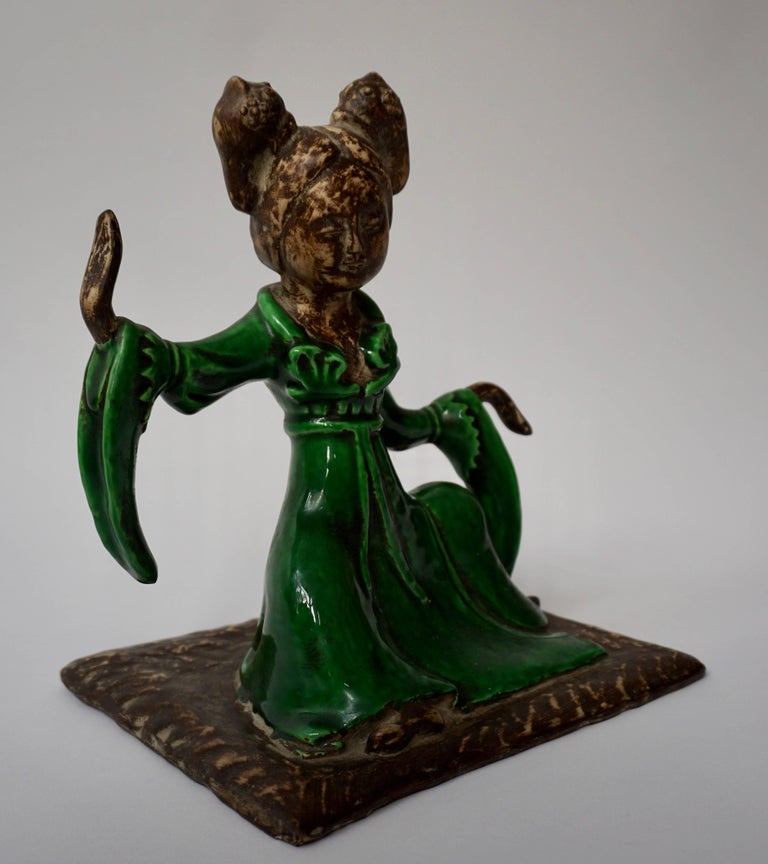 20th Century Chinese Court Musician Figurine by Zaccagnini For Sale