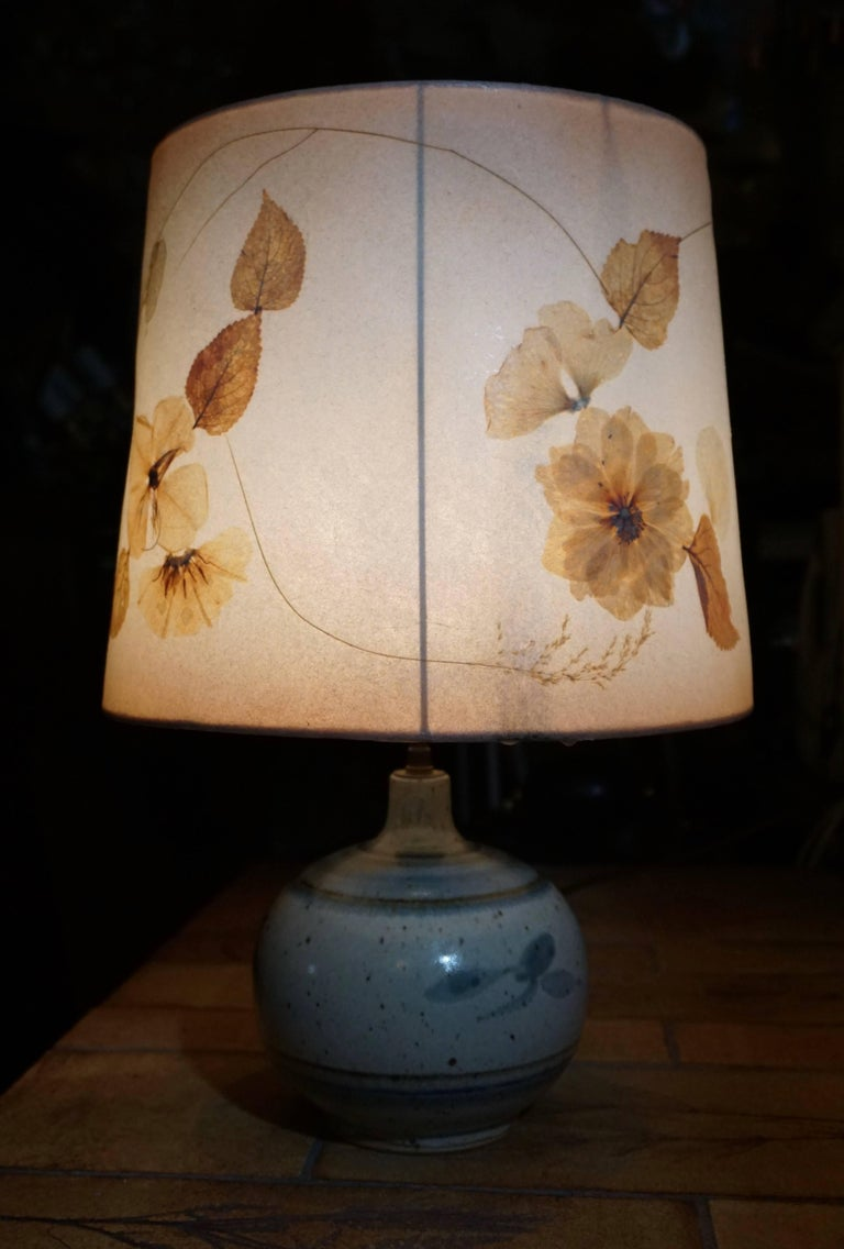 Ceramic Table Lamp For Sale 1