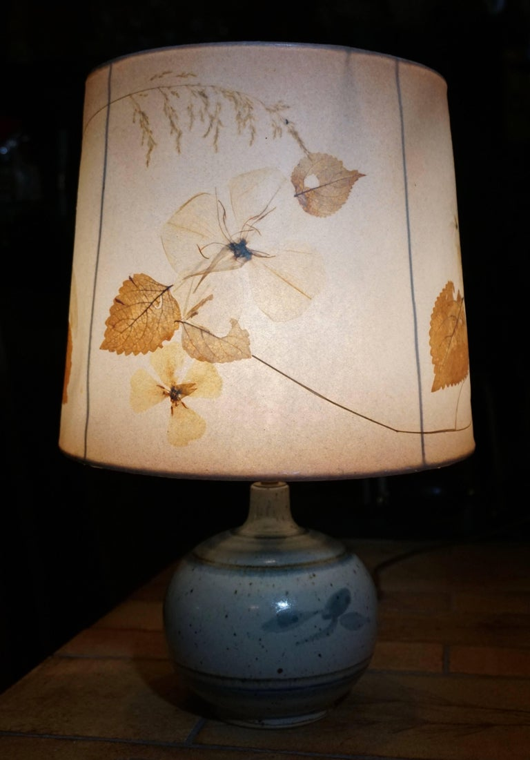 Ceramic Table Lamp For Sale 2