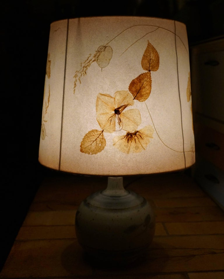 French Ceramic Table Lamp For Sale