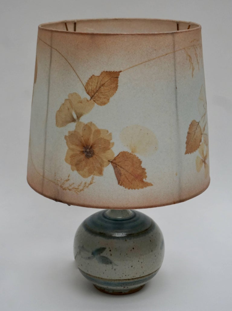 Ceramic Table Lamp For Sale 3