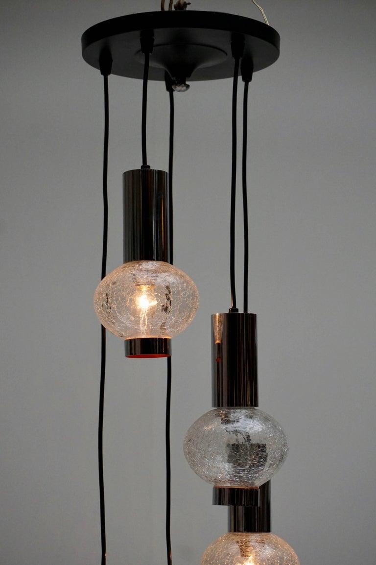 20th Century Murano Glass Pendant Light For Sale