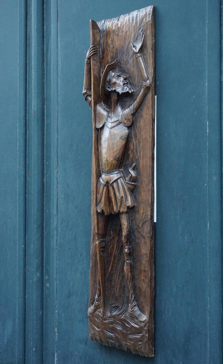 Don Quichotte Wooden Wall Sculpture 10