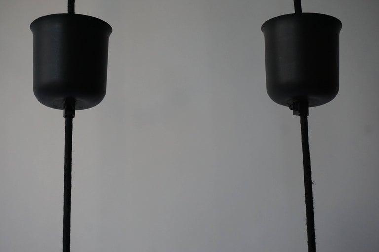 Three Murano Glass Pendant Lights by Vistosi For Sale 1
