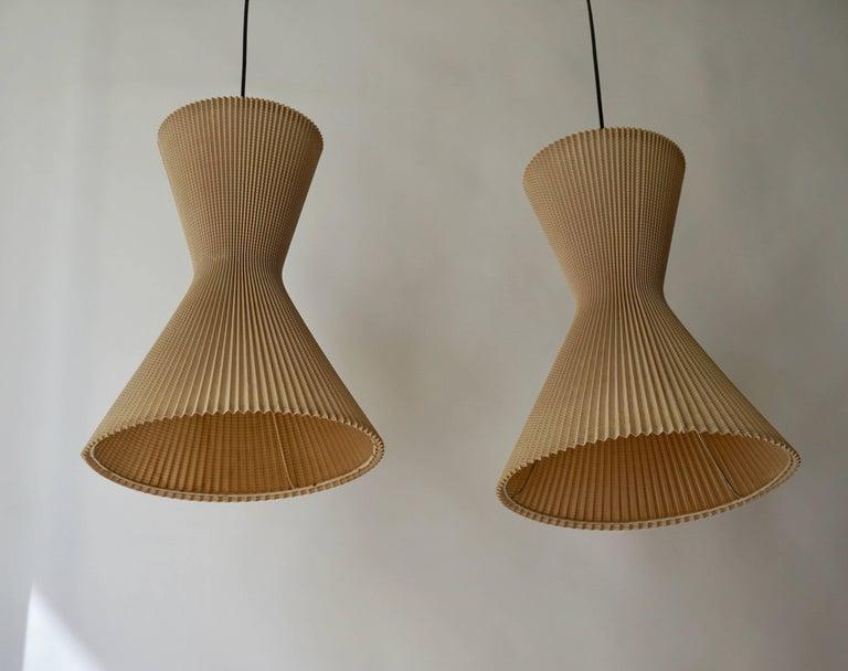 Italian Two Pendant Lights For Sale