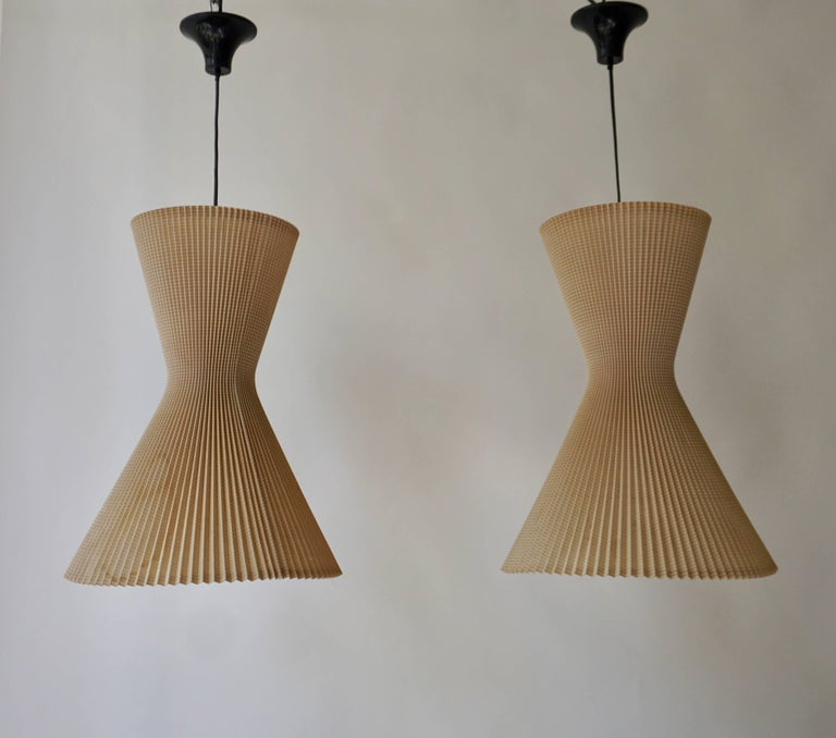 20th Century Two Pendant Lights For Sale